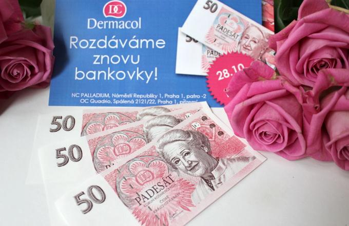 dermacol-rozdava-bankovky