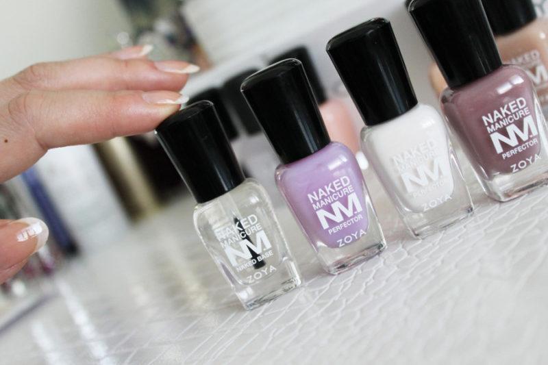 zoya naked manicure