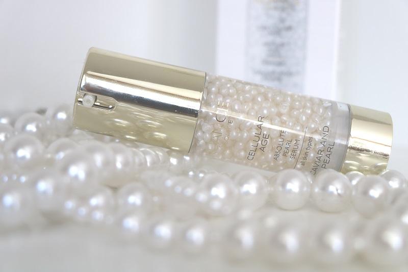 Naunce přípravek mezi perlami